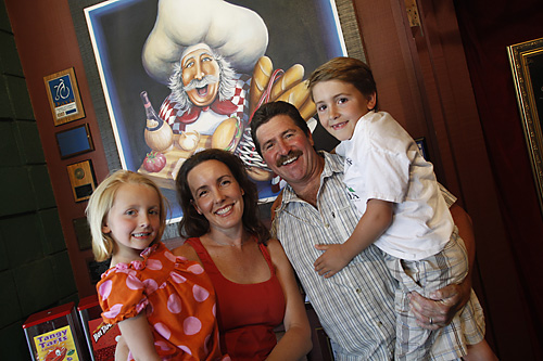 Shar Katz and family [Credit: Davis Enterprise]