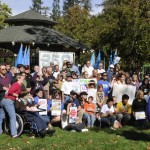 Davis climate rally in October 2009