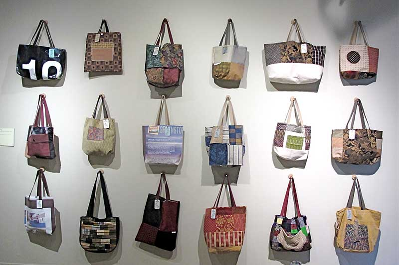recycled handbags