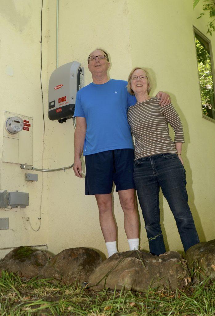 Karen Leaf and Tim Ainsworth