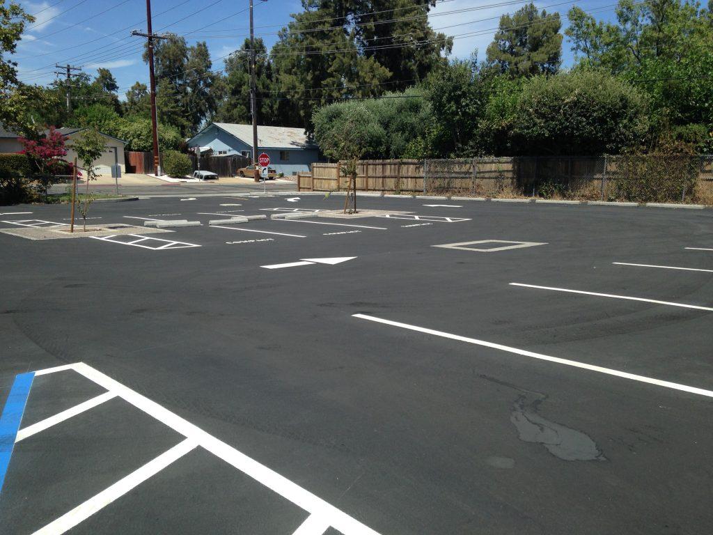 New Holmes Car Parking Lot