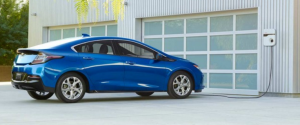 2017 Chevy Volt's combination 53 mile all-electric range and gas motor gets you safety to out of the way places.