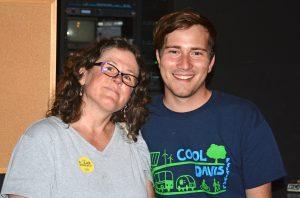 Alex Sauerwein and Kristin Heinemeir