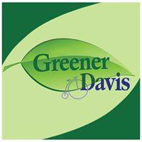 Greener Davis logo