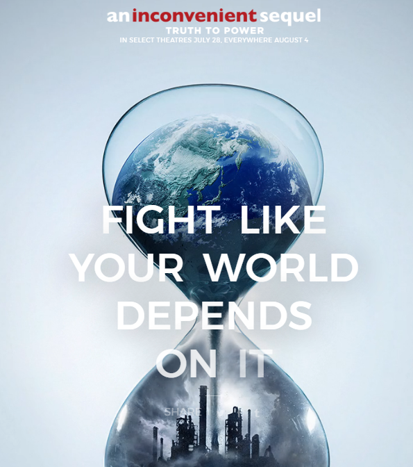 Inconvenient Sequel fight image