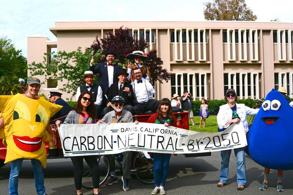City of Davis remains committed to its adopted goal of carbon neutrality by 2050. Photo by Johan Verink.