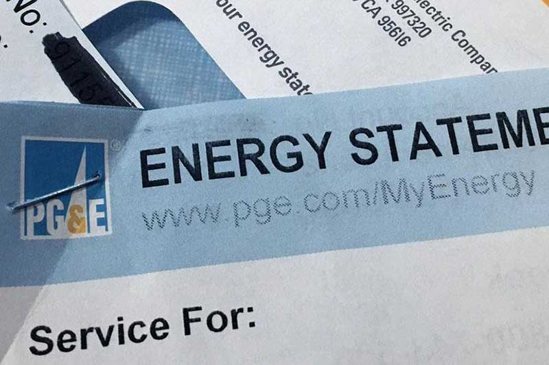 PG&E Energy Statement
