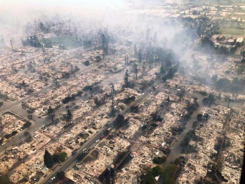Santa Rosa Tubbs Fire