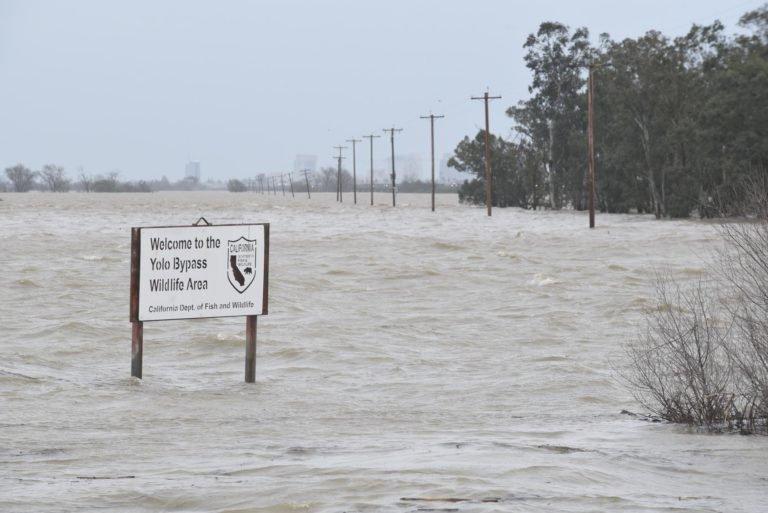 Sacramento Valley Flooding Cool Davis