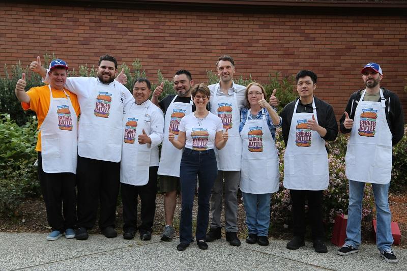 2019 Burger Battle award winning chefs