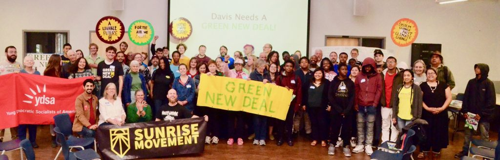 Green New Deal Town Hall Davis CA
