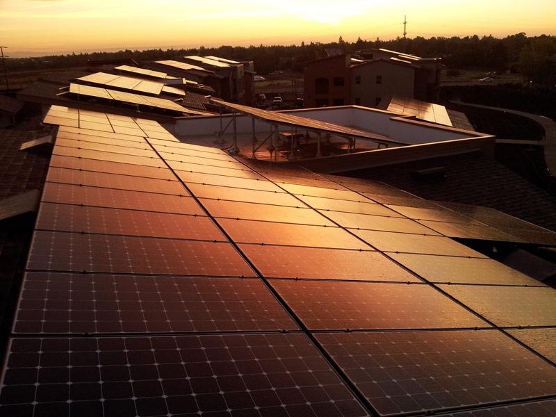 Davis New Harmony Solar Panels