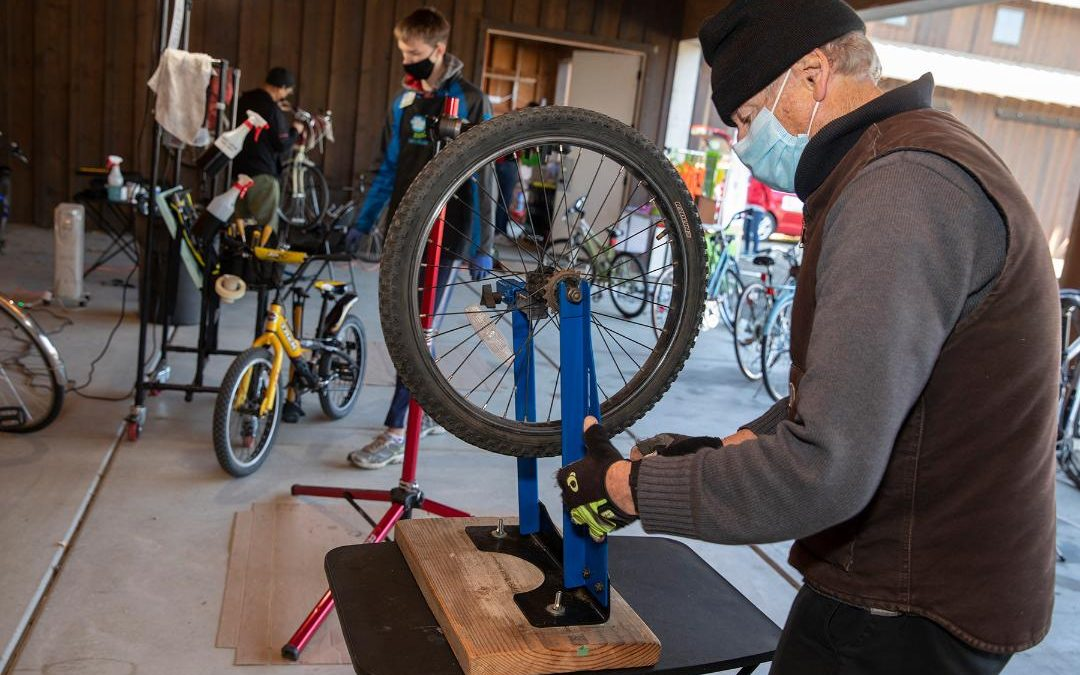 free bike repair The Bike Campaign