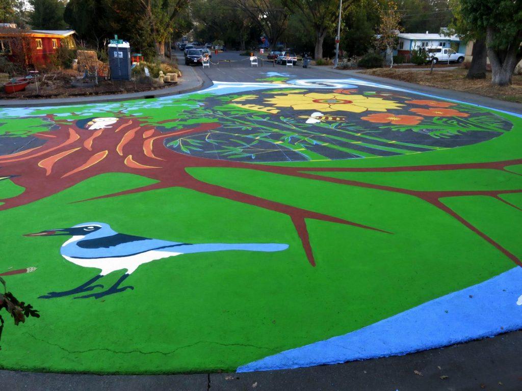 Naturehood Mural - Neighborhood Resilience Project