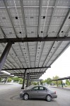 Solar panels - such as there in the parking lot between Davis High School and the Veterans' Memorial Center - are popping up all over Davis.  Local residents are already investing in solar power at a per capita rate that exceeds that of most, if not all, other California cities.