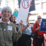 Beth Robbins attended the SF Climate Rally.