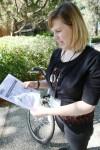 Davis bicycle and pedestrian coordinator (Credit: Sue Cockrell/Davis Enterprise)