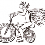 Local artist Danielle Fodor is looking for ideas and contributions and ideas for a mural dedicated to biking