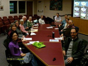 Task force meeting monthly to household strategies for ghg reduction