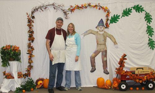 Rhonda and Tony Gruska