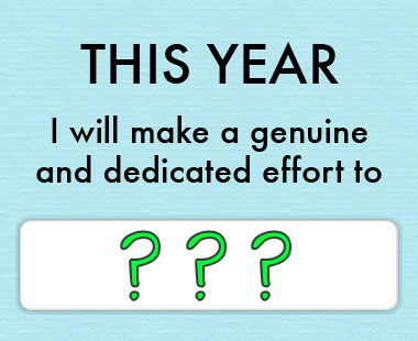 What's your 2014 green resolution?