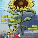 Poster for Richmond Summer Heat Action, 10am, August 3 2013